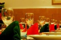 La tavola per le feste