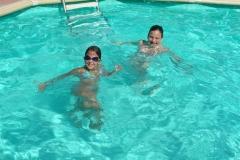 Ospiti in piscina